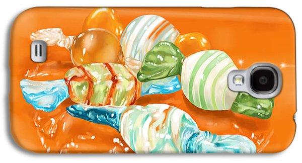 Digital Galaxy S4 Cases - Candy Galaxy S4 Case by Veronica Minozzi