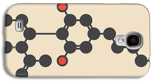 Cannabis Molecule Galaxy S4 Case by Molekuul