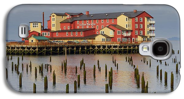 Upscale Galaxy S4 Cases - Cannery Pier Hotel Galaxy S4 Case by Mark Kiver