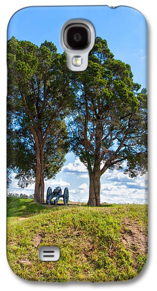 American Independance Photographs Galaxy S4 Cases - Cannon on a Hill Galaxy S4 Case by John Bailey