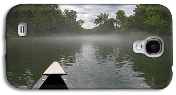 Landscapes Photographs Galaxy S4 Cases - Canoeing the Ozarks Galaxy S4 Case by Adam Romanowicz