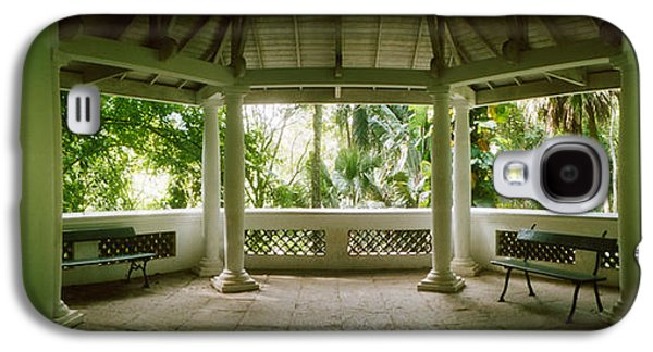 Garden Scene Galaxy S4 Cases - Canopy In The Botanical Garden, Jardim Galaxy S4 Case by Panoramic Images