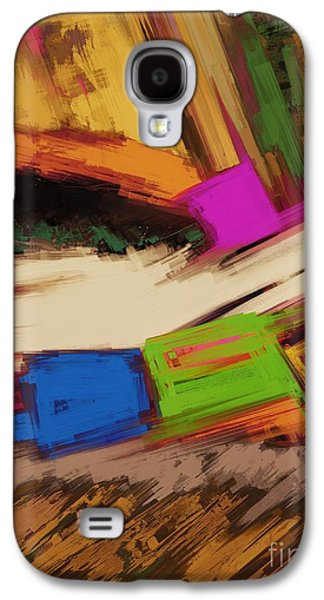 Loose Style Digital Art Galaxy S4 Cases - Canyon Galaxy S4 Case by Keith Mills