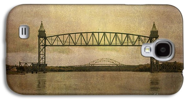Gordon Photographs Galaxy S4 Cases - Cape Cod Canal and Bridges Galaxy S4 Case by Dave Gordon