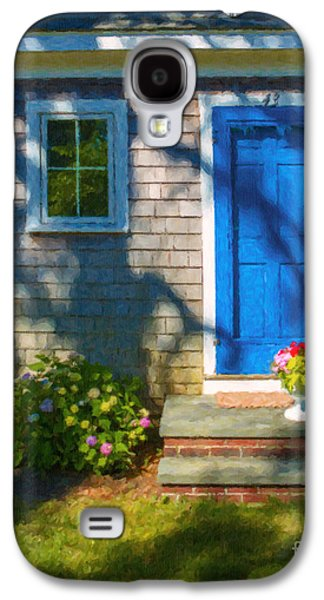 Cape Cod Galaxy S4 Cases - Cape Cod House Galaxy S4 Case by Diane Diederich