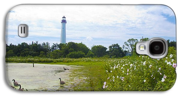 Cape May Lighthouse - New Jersey Galaxy S4 Case by Bill Cannon