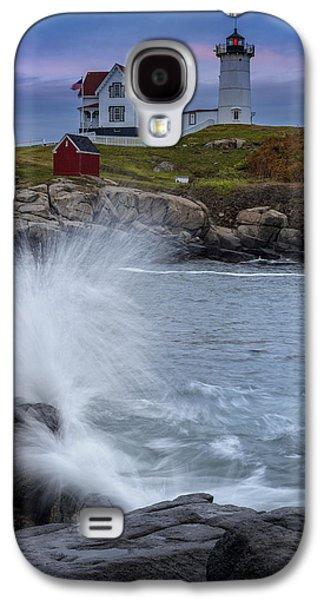 Cape Neddick Galaxy S4 Cases - Cape Neddick Dusk Galaxy S4 Case by Rick Berk