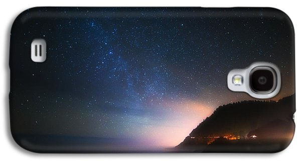 Pacific Ocean Prints Galaxy S4 Cases - Cape Perpetua Celestial Skies Galaxy S4 Case by Darren  White