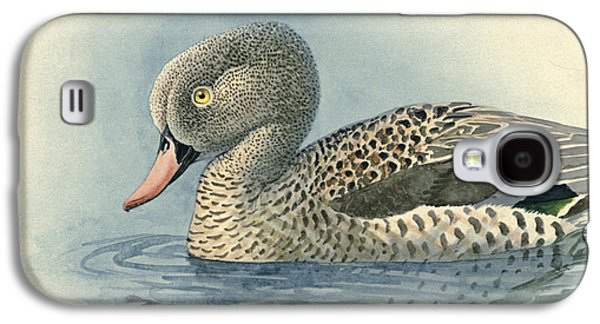 1874 Galaxy S4 Cases - Cape Teal Galaxy S4 Case by Louis Agassiz Fuertes