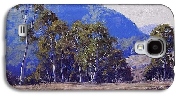 Shed Galaxy S4 Cases - Capertee Eucalyptus Trees Galaxy S4 Case by Graham Gercken