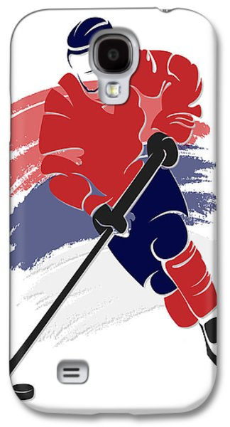 Capital Galaxy S4 Cases - Capitals Shadow Player2 Galaxy S4 Case by Joe Hamilton