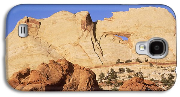 Holes In Sandstone Galaxy S4 Cases - Capitol Reef National Park, Utah Galaxy S4 Case by Mark Newman