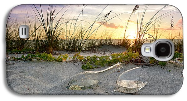 Beach Landscape Galaxy S4 Cases - Captiva  Sunset Galaxy S4 Case by Jon Neidert
