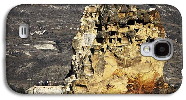 Landmarks Pyrography Galaxy S4 Cases - Cappadocia Galaxy S4 Case by Jelena Jovanovic
