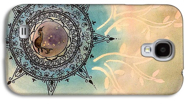 Constellations Paintings Galaxy S4 Cases - Capricorn Galaxy S4 Case by Jennie Hallbrown