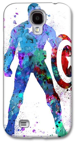Captain Galaxy S4 Cases - Captain America 2 Galaxy S4 Case by Luke and Slavi