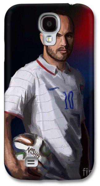 Captain America Galaxy S4 Case by Jeremy Nash