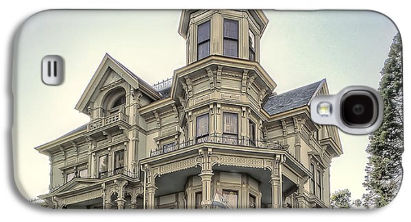 The Haunted House Galaxy S4 Cases - Captain George Flavel Victorian House - ASTORIA OREGON Galaxy S4 Case by Daniel Hagerman