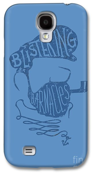 Captain Galaxy S4 Cases - Captain Haddock Galaxy S4 Case by Budi Kwan