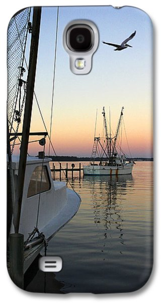 Ocean Scenes Galaxy S4 Cases - Captain Tony - In for the Night Galaxy S4 Case by Mike McGlothlen