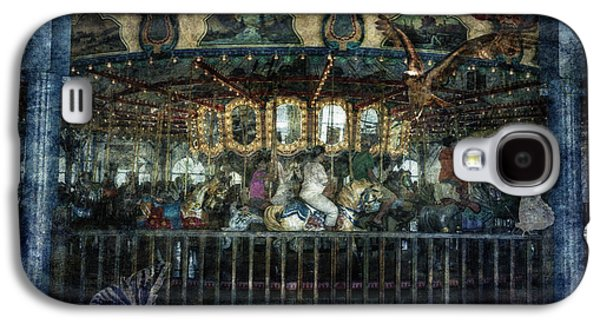 Butterfly Prey Galaxy S4 Cases - Captive on the Carousel of Time Galaxy S4 Case by Belinda Greb