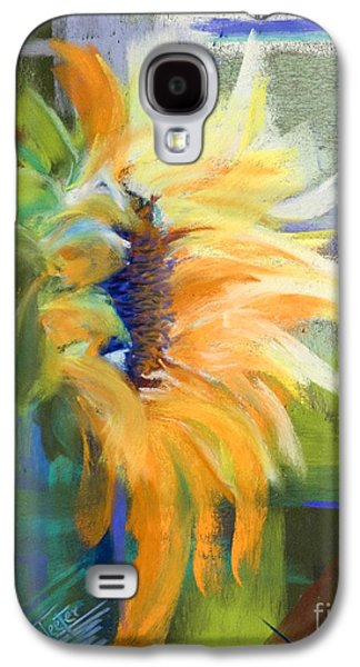 Orange Pastels Galaxy S4 Cases - Captured Sunlight Galaxy S4 Case by Tracy L Teeter
