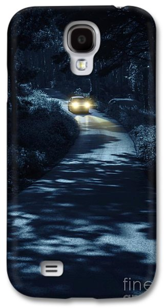 Mysterious Galaxy S4 Cases - Car in the Woods Galaxy S4 Case by Carlos Caetano
