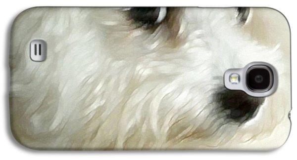 Westie Digital Galaxy S4 Cases - Cara Galaxy S4 Case by Gun Legler