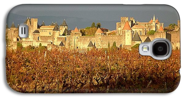 Cathar Country Galaxy S4 Cases - Carcassonne in Fall Galaxy S4 Case by France  Art