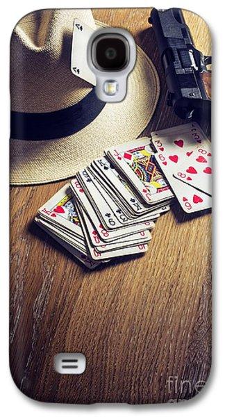 20s Galaxy S4 Cases - Card Gambling Galaxy S4 Case by Carlos Caetano