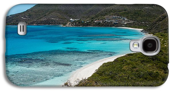 Person Galaxy S4 Cases - Caribbean Beach for One Person Galaxy S4 Case by Georgia Mizuleva