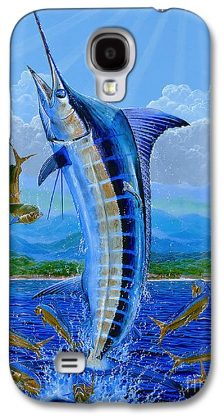 Caribbean Blue Off0041 Galaxy S4 Case by Carey Chen