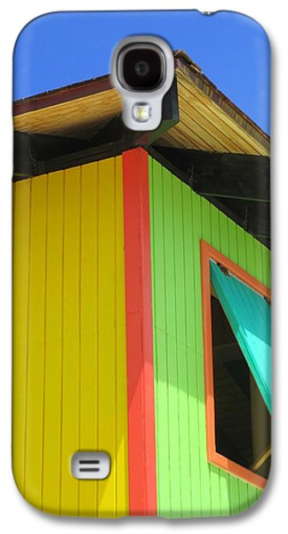 Cabin Window Galaxy S4 Cases - Caribbean Corner 2 Galaxy S4 Case by Randall Weidner