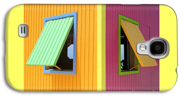 Caribbean Corner 3 Galaxy S4 Case by Randall Weidner
