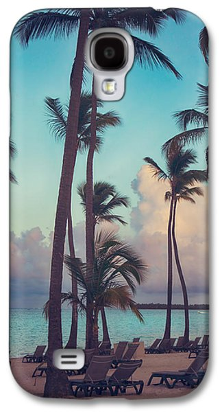 Chair Galaxy S4 Cases - Caribbean Dreams Galaxy S4 Case by Laurie Search