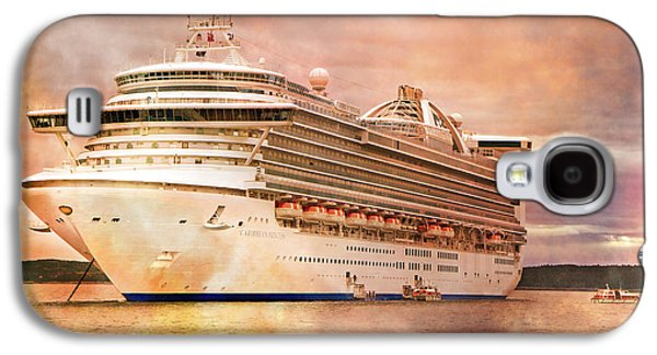 Caribbean Princess In A Different Light Galaxy S4 Case by Betsy Knapp