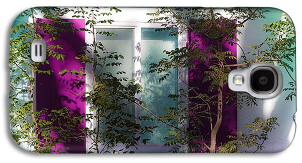 In The Shade Galaxy S4 Cases - Caribbean Shadows Galaxy S4 Case by Karen Wiles