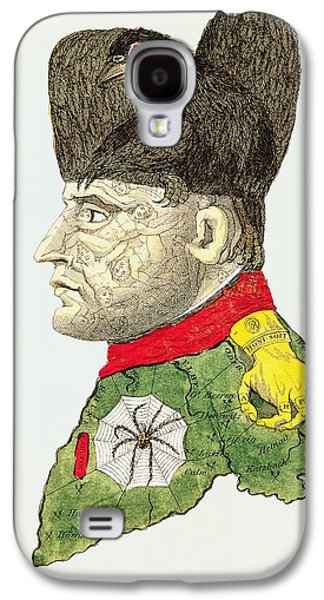Caricature Of Napoleon Bonaparte Galaxy S4 Case by English School