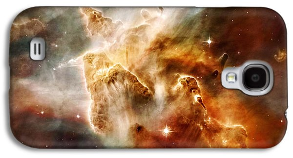 Constellations Paintings Galaxy S4 Cases - Carina Nebula Galaxy S4 Case by Celestial Images