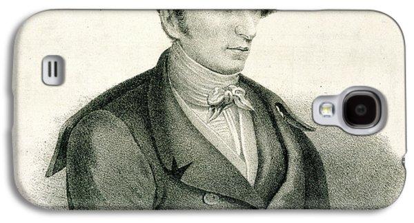 Carl Maria Von Weber Galaxy S4 Case by British Library