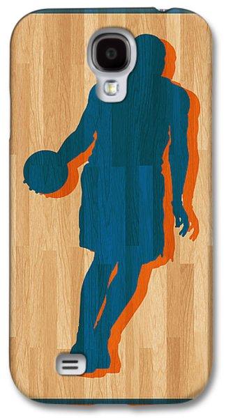 Carmelo Anthony New York Knicks Galaxy S4 Case by Joe Hamilton