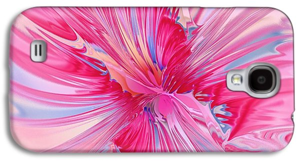 Blossom Galaxy S4 Cases - Carnation Pink Galaxy S4 Case by Anastasiya Malakhova