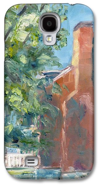 Carnton Plantation Galaxy S4 Cases - Carnton Plantation on a Spring Morning Galaxy S4 Case by Susan E Jones