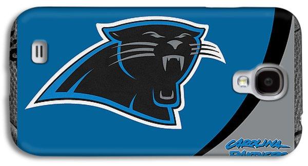 Panther Galaxy S4 Cases - Carolina Panthers Galaxy S4 Case by Joe Hamilton