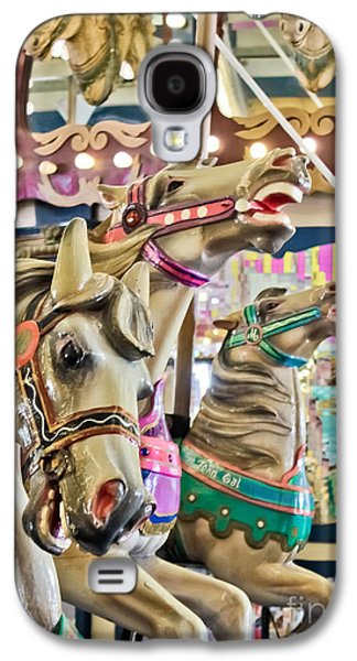Carousel At Casino Pier Galaxy S4 Case by Colleen Kammerer