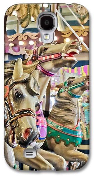 Original Photographs Galaxy S4 Cases - Carousel at Casino Pier Galaxy S4 Case by Colleen Kammerer