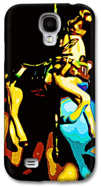 Carousel Horse Paintings Galaxy S4 Cases - Carousel Horse Galaxy S4 Case by CHAZ Daugherty