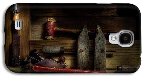 Hammer Galaxy S4 Cases - Carpentry Still Life Galaxy S4 Case by Tom Mc Nemar