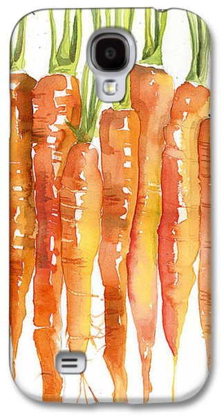 Carrot Bunch Art Blenda Studio Galaxy S4 Case by Blenda Studio