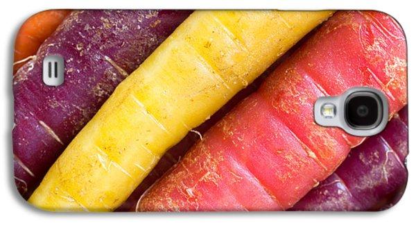 Carrot Rainbow Galaxy S4 Case by Heidi Smith